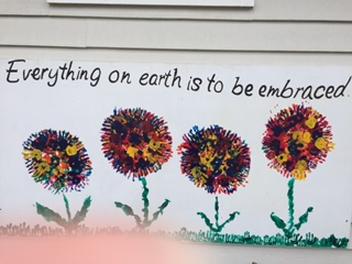 Early in the year our students made their mark on eight panels for our garden. We are happy to say that they are mounted in the garden area and they […]