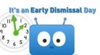 Friendly Reminder:  There will be an early Dismissal on April 26.  12:00 noon. Student Led Conferences are from 1:30 pm – 6:00 pm.