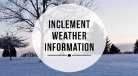 All schools will remain open, unless there is heavy snowfall, damage or other circumstances (e.g. power outage) that make it impossible to operate safely. The district will do its best […]