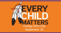 Please join us on Monday, September 30th at 11am in the west gym for our Orange Shirt Day gathering in order to honour and remember residential school survivors.