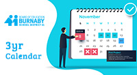 The Burnaby School District is welcoming feedback and comments untilJanuary 8, 2020about the proposed three-year calendar for the school years from 2020-21 through 2022-23. The calendar sets out winter and […]